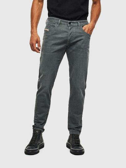 Diesel - D-Bazer 0699P, Green Melange - Jeans - Image 1