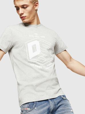 T-DIEGO-A3, Grey - T-Shirts