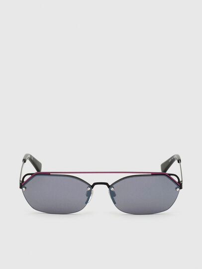 Diesel - DL0313, Black/Violet - Sunglasses - Image 1
