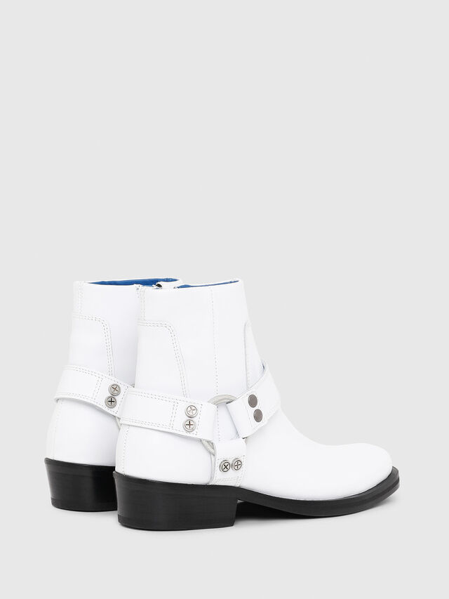 Diesel - D-BIOYS MC, White - Boots - Image 3