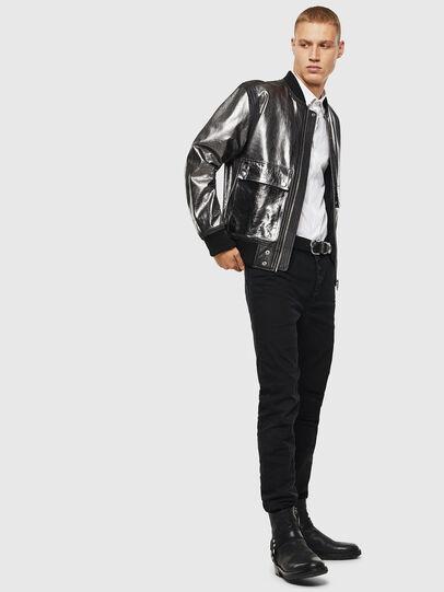 Diesel - L-STEWARD-FOIL,  - Leather jackets - Image 6