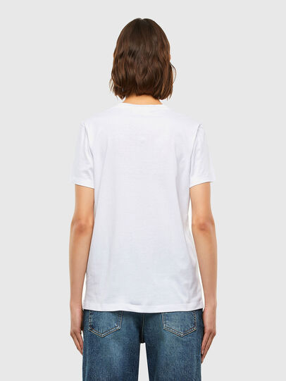 Diesel - T-SILY-K4, White - T-Shirts - Image 2