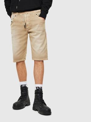 D-KROOSHORT JOGGJEANS, Beige - Shorts