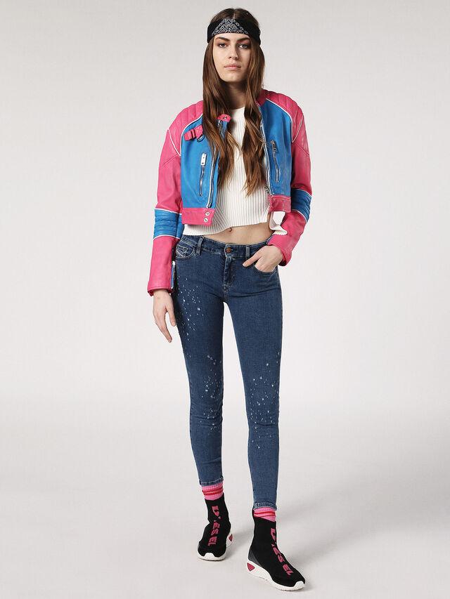 SLANDY-ANKLE 0689J, Blue Jeans