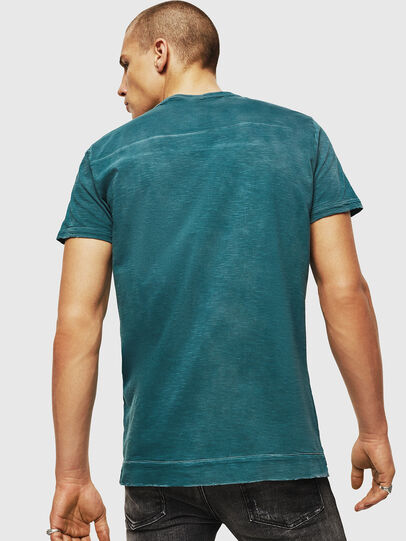 Diesel - T-DIEGO-CUT-AC, Blue Marine - T-Shirts - Image 2