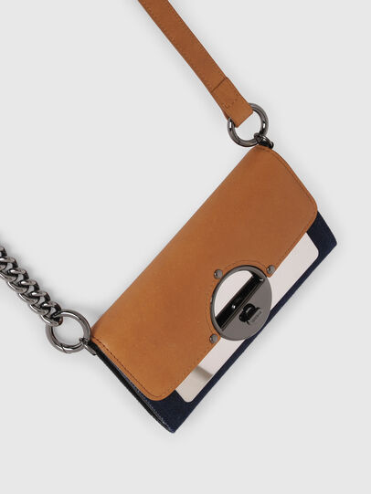 Diesel - GIPSILOCK, Blue/Beige - Small Wallets - Image 5