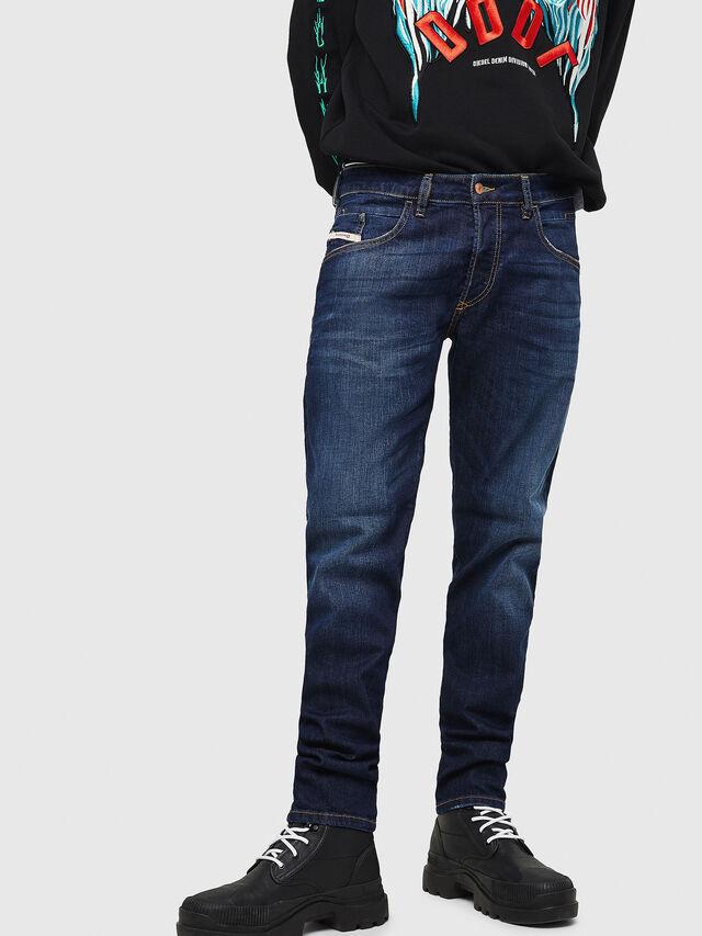 Diesel - D-Bazer 082AY, Dark Blue - Jeans - Image 1