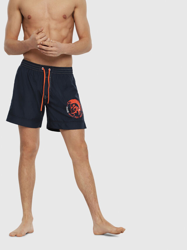 Diesel - BMBX-WAVE 2.017, Blue - Swim shorts - Image 1