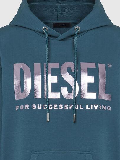 Diesel - D-ILSE-T, Water Green - Dresses - Image 4