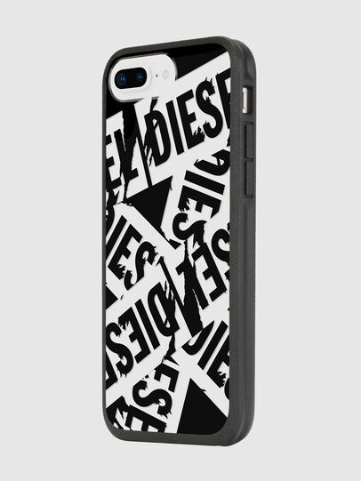 Diesel - MULTI TAPE BLACK/WHITE IPHONE 8 PLUS/7 PLUS/6S PLUS/6 PLUS CASE, Black - Cases - Image 5