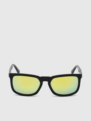 DL0262, Black/Green - Sunglasses