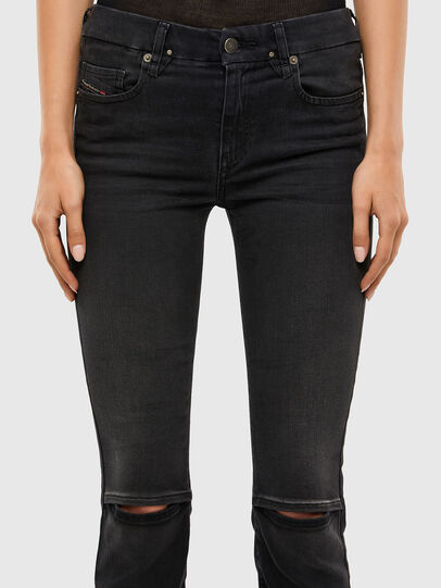 Diesel - Slandy-B 069QN, Black/Dark grey - Jeans - Image 5