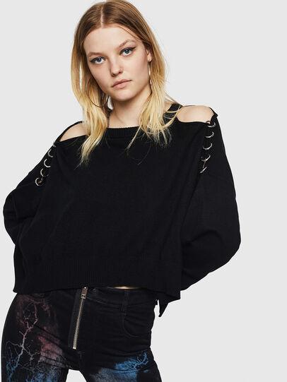 Diesel - M-NETTY, Black - Knitwear - Image 4