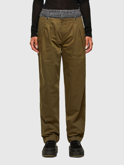 Diesel - P-BLACK, Brown - Pants - Image 1