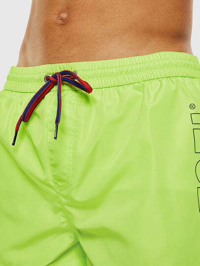 Diesel - BMBX-SANDY 2.017, Yellow Fluo - Swim shorts - Image 3