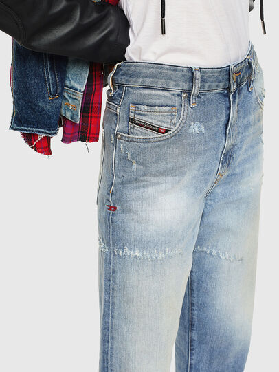 Diesel - D-Reggy 0098V, Light Blue - Jeans - Image 3