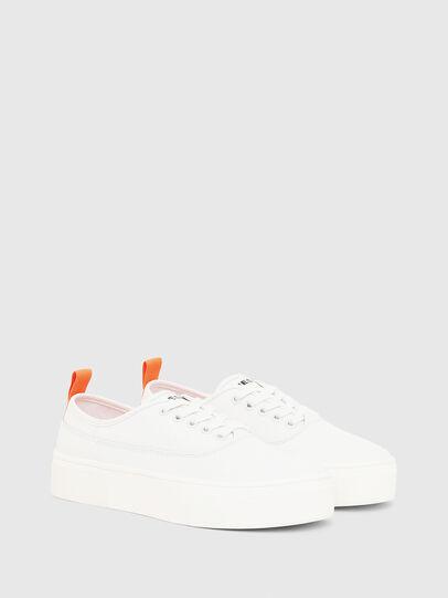 Diesel - S-VANEELA LOW, White/Orange - Sneakers - Image 2