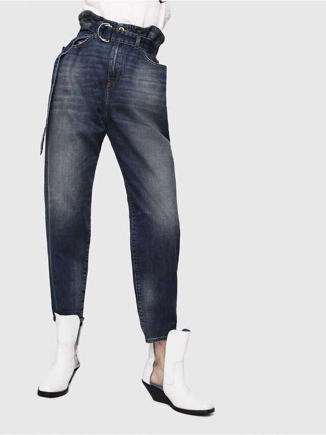 Diesel - D-Vizons 089AR, Dark Blue - Jeans - Image 1