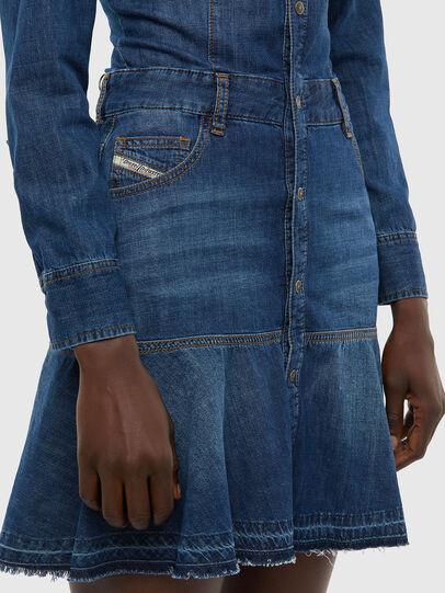 Diesel - DE-JOANA, Medium blue - Dresses - Image 3
