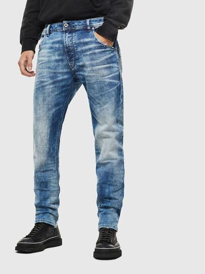 Diesel - Krooley JoggJeans 087AC, Medium blue - Jeans - Image 1