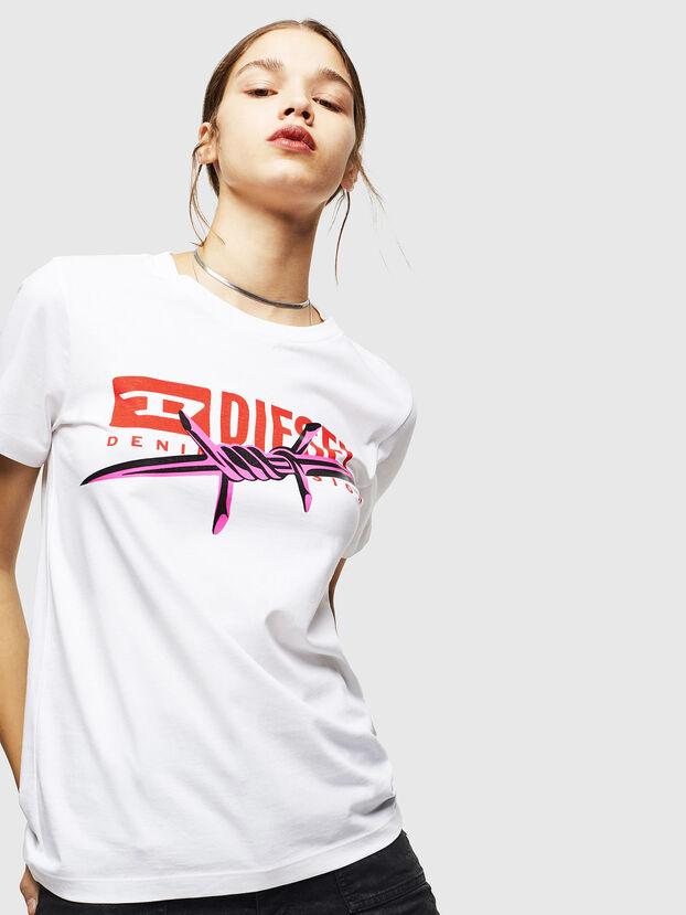 T-SILY-ZC, White - T-Shirts