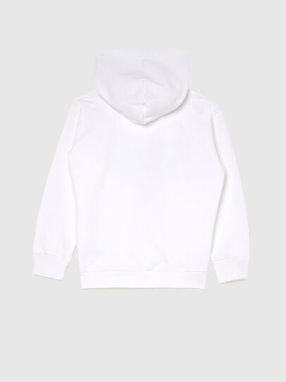 Diesel - SDIVISION-LOGOX OVER, White - Sweaters - Image 2