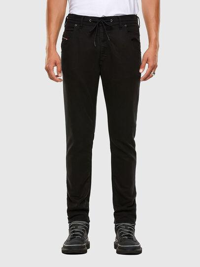 Diesel - Krooley JoggJeans 069NC, Black/Dark grey - Jeans - Image 1
