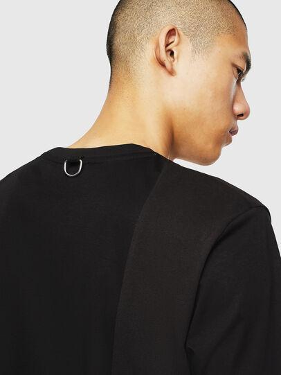 Diesel - T-TOMI, Black - T-Shirts - Image 5