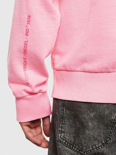 Diesel - S-GIRK-HOOD-FLUO,  - Sweaters - Image 7