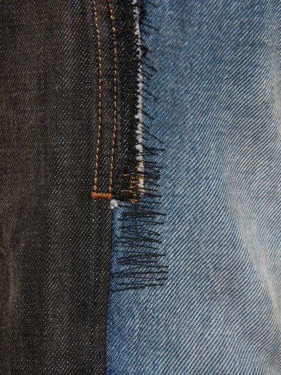 Diesel - D-Kras 009EA, Black/Dark grey - Jeans - Image 4