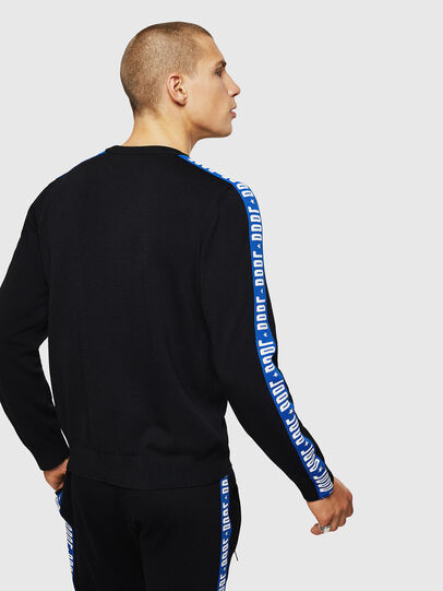 Diesel - K-TRACKY-B, Black/Blue - Knitwear - Image 2