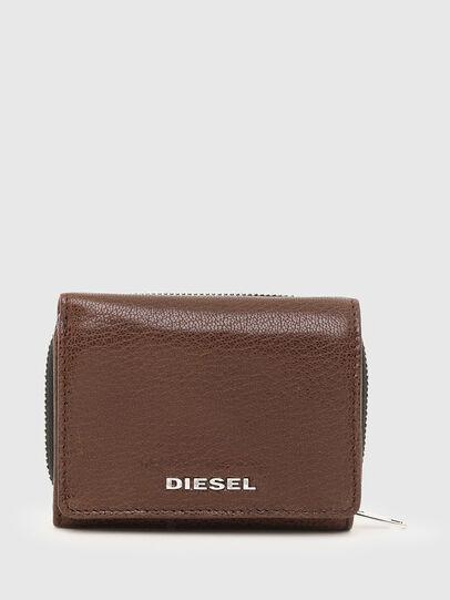 Diesel - SPEJAP, Brown - Small Wallets - Image 1