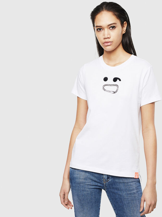 T-SILY-S8, White - T-Shirts