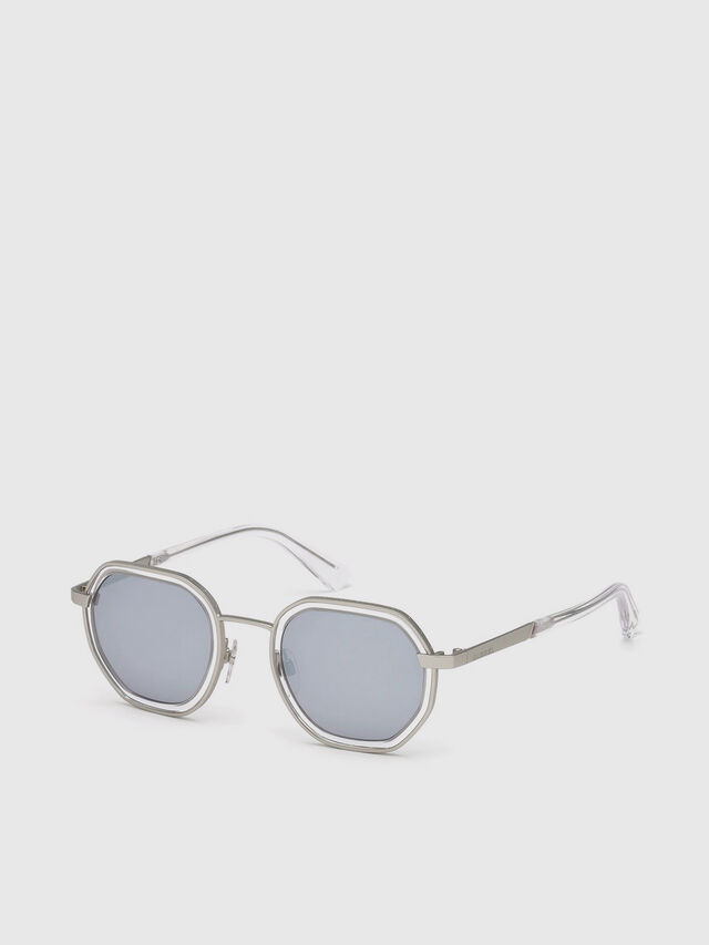 Diesel - DL0267, Grey - Sunglasses - Image 2