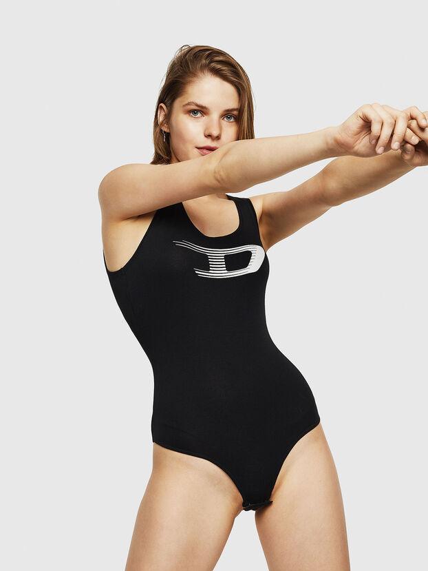 UFTK-BODY, Black - Bodysuits