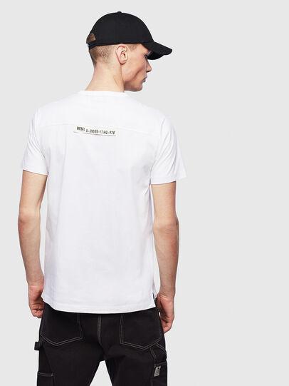 Diesel - T-RABEN-POCKET, White - T-Shirts - Image 2