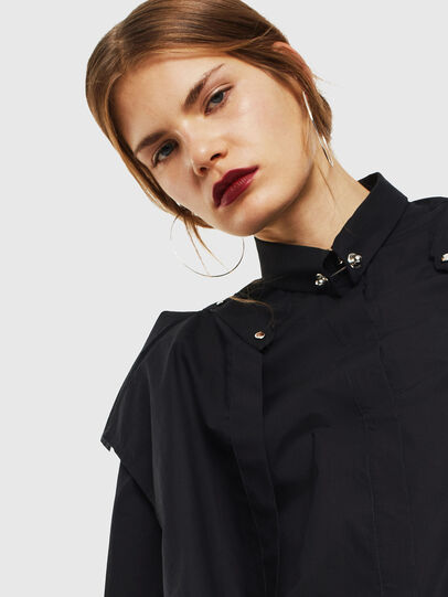 Diesel - C-RAILY-SHAPED, Black - Shirts - Image 3