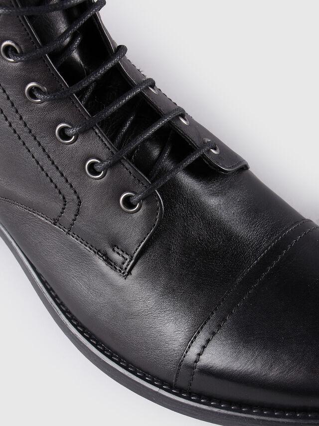 Diesel D-KALLIEN, Black Leather - Boots - Image 4