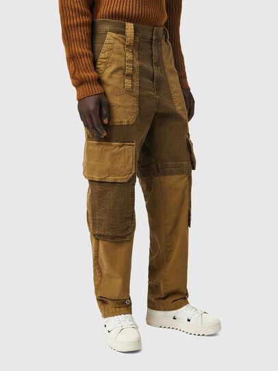Diesel - D-Multy JoggJeans® 0AFAE, Brown - Jeans - Image 5