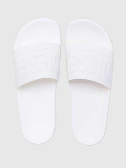 Diesel - SA-MAYEMI, White - Slippers - Image 4