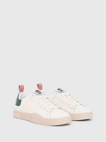 Diesel - S-CLEVER LOW LACE W, White/Green - Sneakers - Image 2