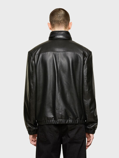 Diesel - L-NAME, Black - Leather jackets - Image 2