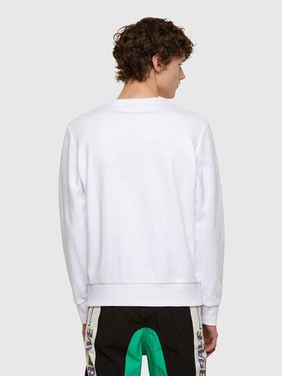 Diesel - S-COPET-E1, White - Sweaters - Image 2
