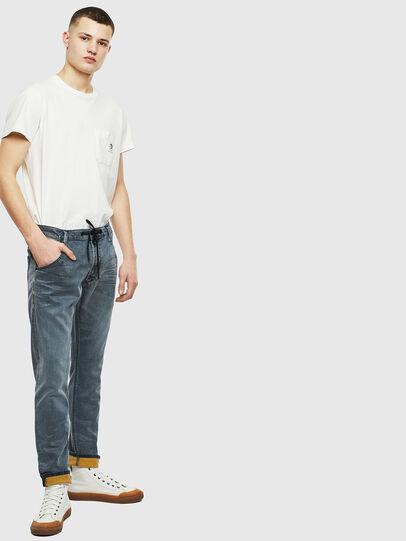 Diesel - Krooley JoggJeans 069LT, Dark Blue - Jeans - Image 6