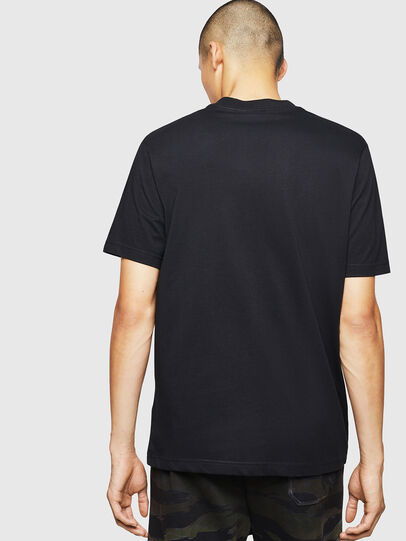Diesel - T-JUST-B25, Black - T-Shirts - Image 2