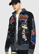 DXF-NHILL, Black - Denim Jackets
