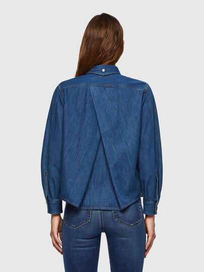 Diesel - DE-BEA-SP, Blue - Denim Shirts - Image 2