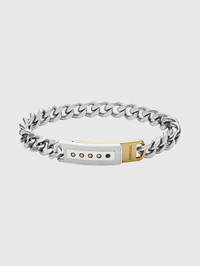 Diesel - DX1212, Silver - Bracelets - Image 1