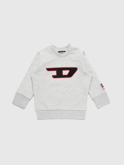 Diesel - SCREWDIVISIONB-D-R, Grey - Sweaters - Image 1