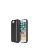ZIP BLACK LEATHER IPHONE 8/7/6s/6 CASE, Black - Cases
